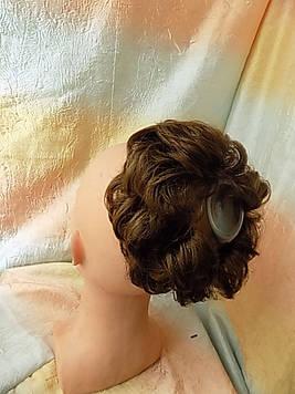 Резинка-шиньон из волос светло-русая 977-12