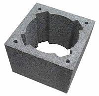 Блок дымоходный керамзитобетонный