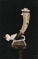 Грифон, резьба по кости и рогу, резьба по кости купить, изделия из кости, изделия из кости мамонта,, фото 1