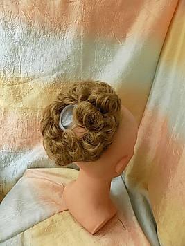 Резинка-шиньон из волос пшенично-русый 977-15