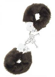 Dream Toys - Наручники,Metal Handcuff with Plush broun