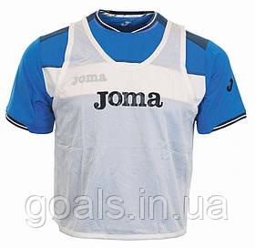 Манишка футбольная Joma белая