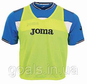 Манишка футбольная Joma желтая