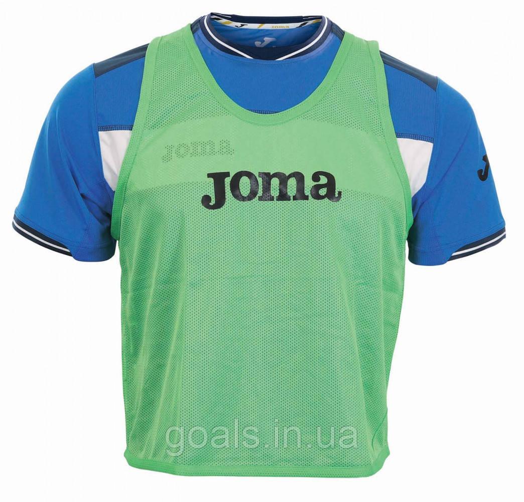 Манишка футбольная Joma зеленая