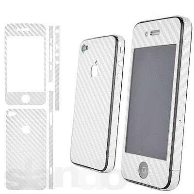 Пленка скин карбон Carbon на iPhone 4/4S
