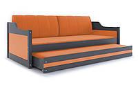 Кровать для детей раздвижная 185x80 с матрасом