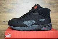 Мужские зимние Ботинки Puma Trinomic высокие черные
