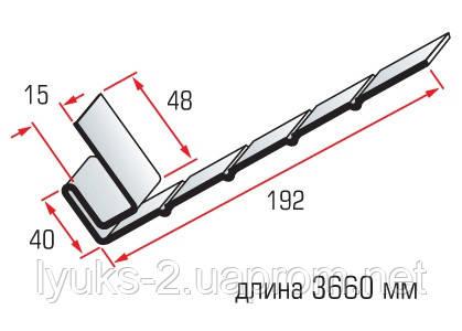 Планка Фаска для сайдинга