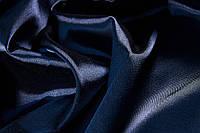 ткань атласная (тёмно-синий)