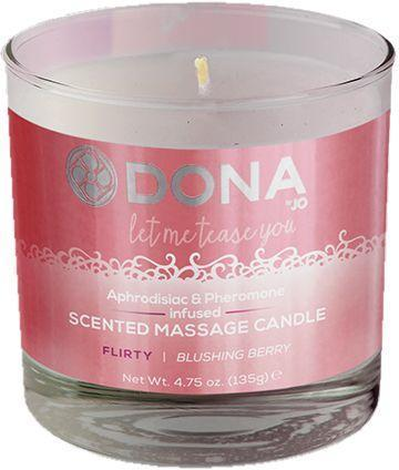 Dona by JO - Свеча для массажа DONA SCENTED MASSAGE CANDLE - FLIRTY