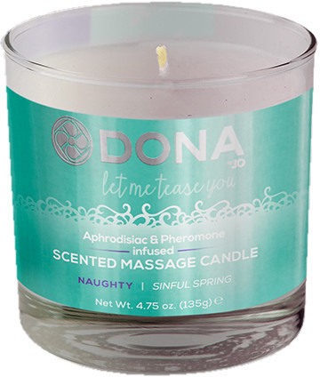 Dona by JO - Ароматическая свеча для массажа DONA SCENTED MASSAGE CANDLE - NAUGHTY