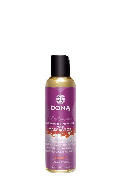 Dona by JO - Массажное масло DONA SCENTED MASSAGE OIL - SASSY