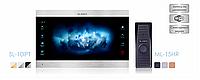 Slinex SL-10IPT и Slinex ML-15HR комплект IP видеодомофона