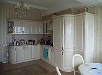 Кухня крем глянец