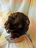 Резинка-шиньон из волос светло-русый  0215А-12