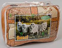 Шерстяное одеяло двуспальное 175х210см, поликоттон Верона, Украина, цвета в ассортименте