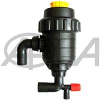 Фильтр опрыскивателя всасывающий большой с запорным клапаном Agroplast (Агропласт)