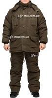 """Зимний костюм  """"Олива-хаки"""" до -30℃, фото 1"""