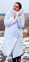 Модное женское пальто одеяло