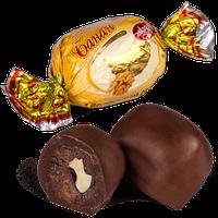 Шоколадные конфеты Банан с грецким орехом Skava