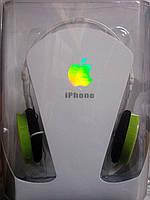 Наушники с микрофоном Iphone PG 507