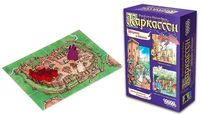 Настольная игра Каркассон. Дворяне и башни, фото 2