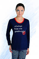 Красивая женская хлопковая пижама, р. S-XL.