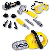 Игровой набор инструментов с бензопилой