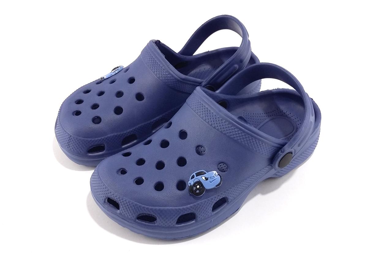 5499542d4 Детские шлепанцы резиновые SunLine М7 синие - takto.com.ua - Ваш поставщик  качественного