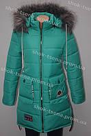 Зимняя подростковая куртка на девочку