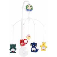 Музыкальный пластиковый мобиль на кроватку Веселый зоопарк, Canpol babies