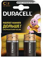 Батарейки Duracell LR14/С MN1400 KPN 02*10 (щелочные-alakaline) блистр 2 шт.