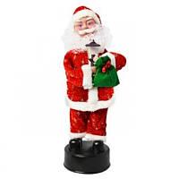 Музыкальная игрушка «Танцующий Дед Мороз» JY032, 41 см
