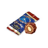 Шоколадные конфеты Вдохновение c миндальным кремом  и цельным миндалем кондитерской фабрики Бабаевский