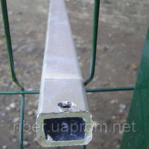 Столб СТАНДАРТ 60х40х1,2мм высота 2,5м (оц.)