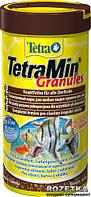 Корм Tetra Min Granules для аквариумных рыб в гранулах 250 мл