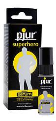 Пролонгирующая гель-смазка для мужчин pjur Superhero Serum 20 мл