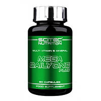 Витамины и минералы Scitec Nutrition - Mega Daily One Plus (60 капсул)