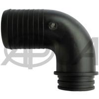 Патрубок угловой Ø 50 мм 90° 2 дюйма всасывающего фильтра опрыскивателя Agroplast (Агропласт)