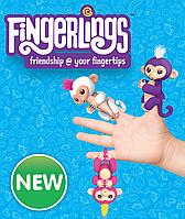 Ручная интерактивная обезьянка Fingerlings WowWee