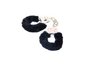 Наручники with Plush black
