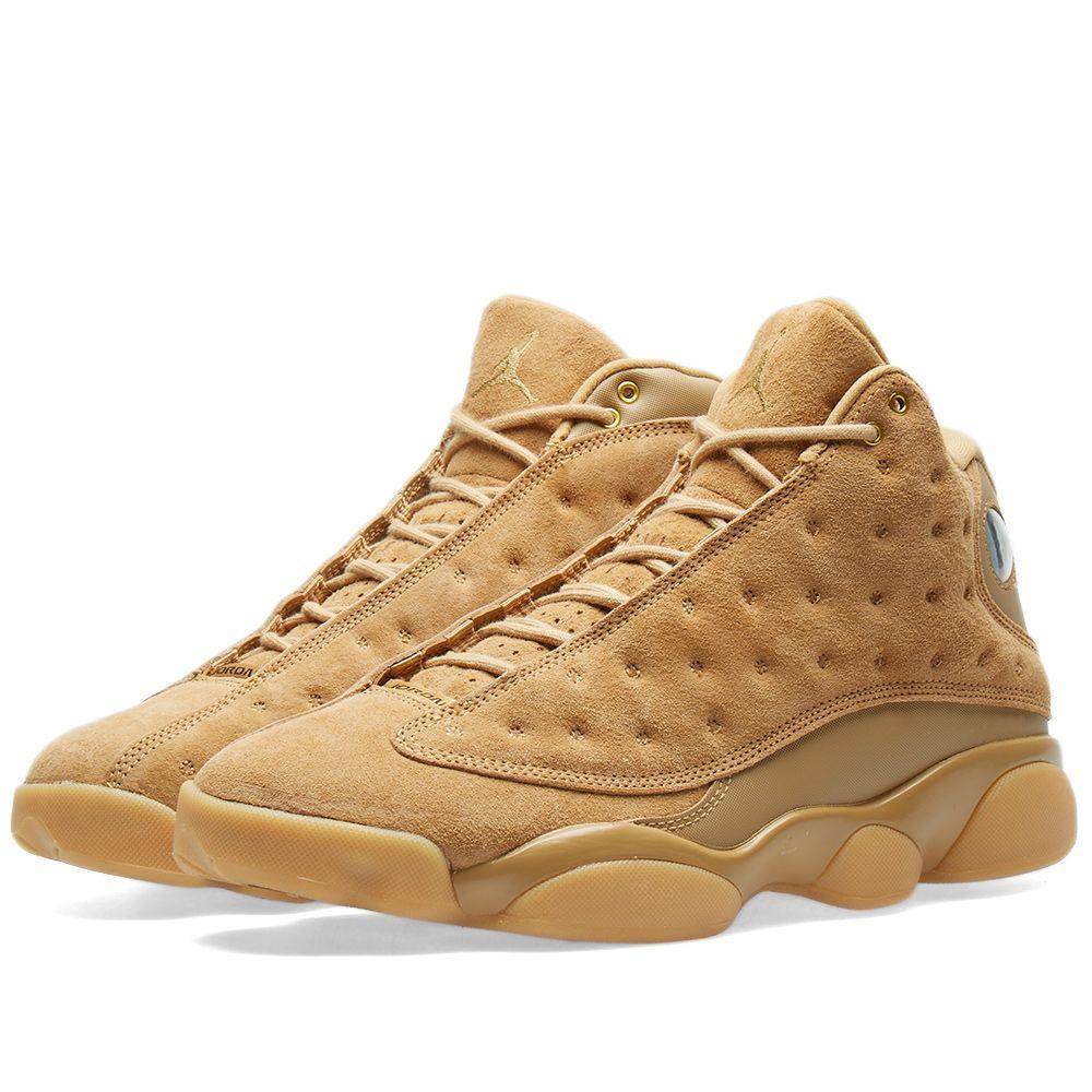 """ba0a2ede3952 Оригинальные кроссовки Air Jordan 13 Retro """"Elemental Gold"""" -  Sport-Sneakers - Оригинальные"""