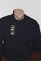 Мужской свитер HRH, вязка, круглое горло, батал