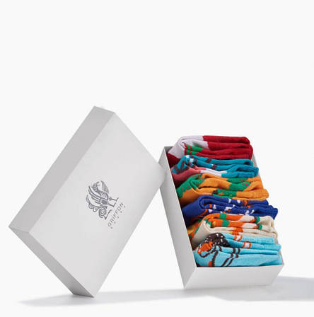 Набір дитячих шкарпеток Transport Box for kids 6 пар