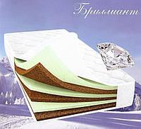 Матрас «Бриллиант» беспружинный 160х200