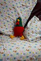 """Детский фланелевый комплект в кроватку """"Зайка"""""""