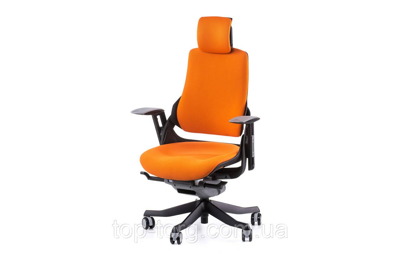 Кресло офисное WAU MANDARIN FABRIC оранжевое