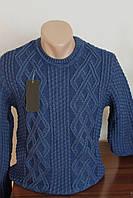Мужской свитер HRH, вязка, круглое горло