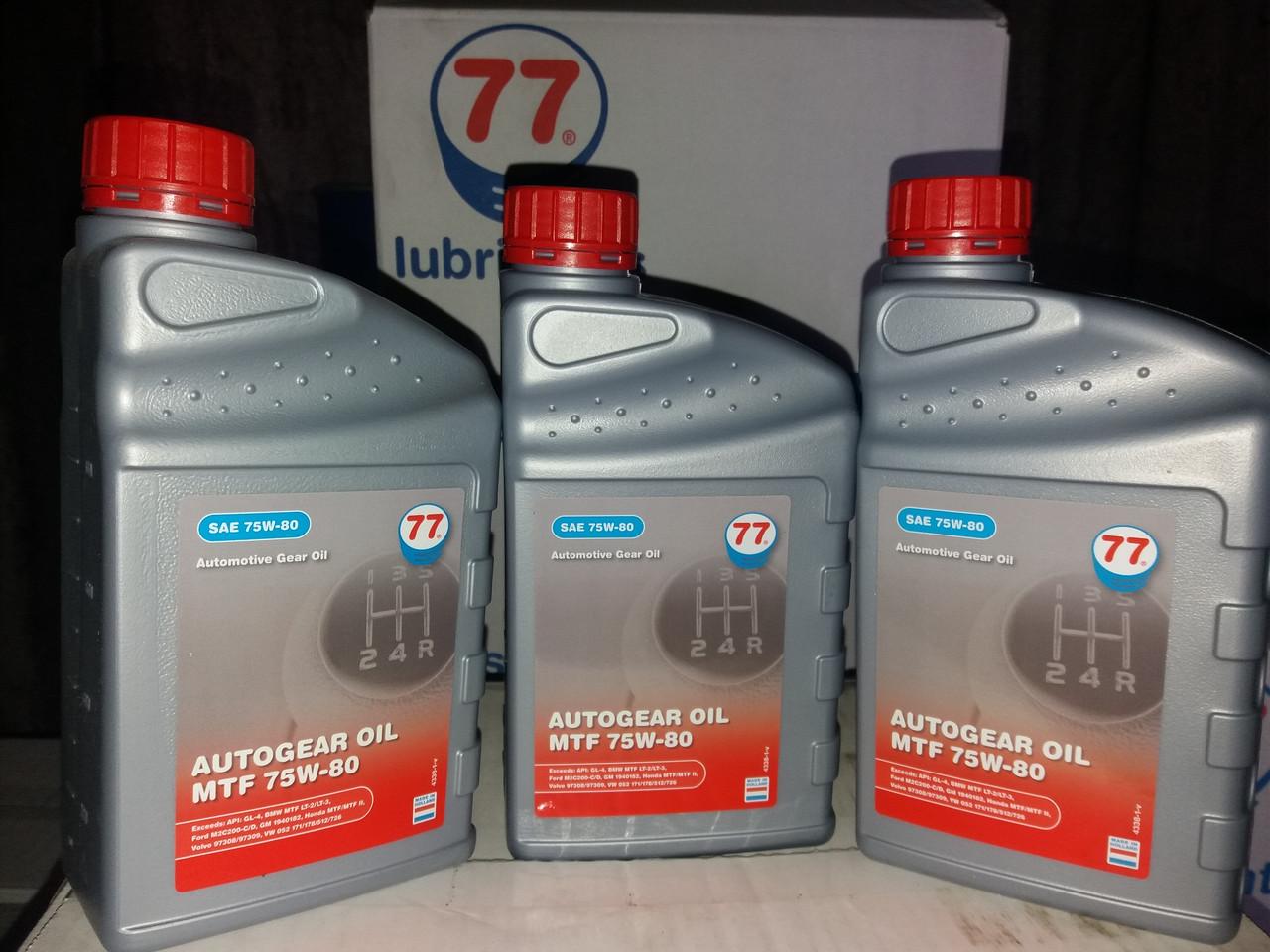 Autogear Oil MTF 75W-80, GL-4 (кан. 1 л)