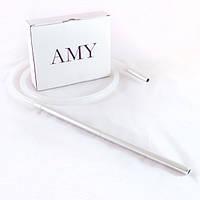 Шланг для кальяна силиконовый Amy Прозрачный